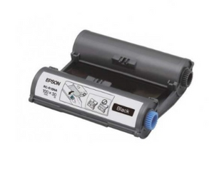 Epson RC-R1BNA LabelWorks Tape - 100mm Black Ribbon - OfficePlus.com.my