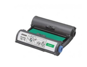 Epson RC-R1GNA LabelWorks Tape - 100mm Green Ribbon - OfficePlus.com.my
