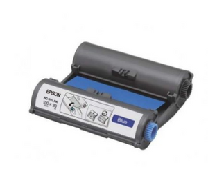 Epson RC-R1LNA LabelWorks Tape - 100mm Blue Ribbon - OfficePlus.com.my