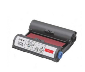 Epson RC-R1RNA LabelWorks Tape - 100mm Red Ribbon - OfficePlus
