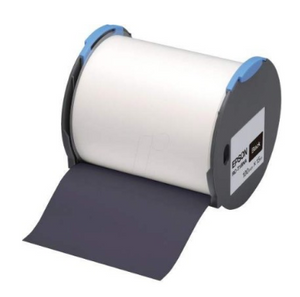 Epson RC-T1BNA LabelWorks Tape - 100mm Black Tape - OfficePlus