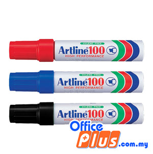 Artline Permanent Marker EK-100 (RM 6.50 - RM 6.60/pc) - OfficePlus