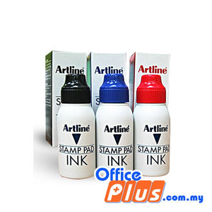 Artline Stamp Pad Refill Ink 50ml - OfficePlus