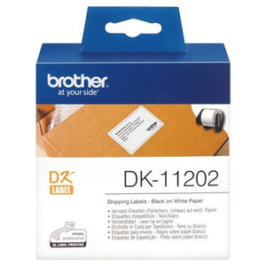 Brother DK11202 Shipping Label - 62mm x 100mm - OfficePlus