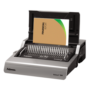 FELLOWES PLASTIC COMB BINDING GALAXY E 500 - OfficePlus