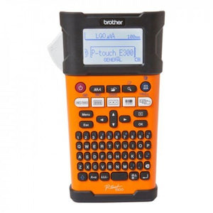 Brother PT-E300VP - Industrial Handheld Labeling Tool With Rechargeable Li-ion Battery - OfficePlus