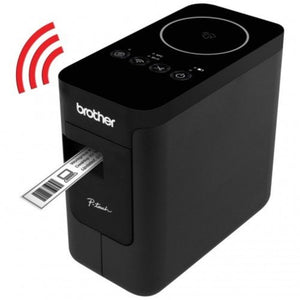 Brother PT-P750W - Compact Label Maker with Wireless Enabled Printing (Wireless & NFC ready) - OfficePlus.com.my