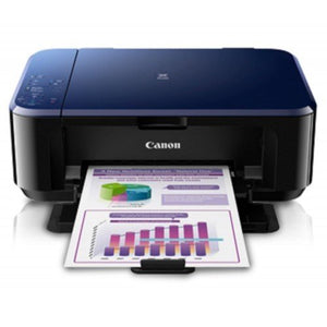 Canon PIXMA E560 - A4 3-in-1 Print Scan Copy Wireless Inkjet Printer - OfficePlus.com.my