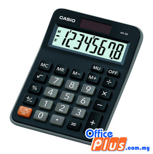 Casio Calculator (MX-8B) - OfficePlus.com.my