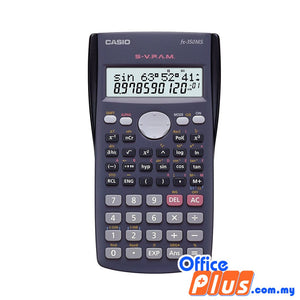 Casio Scientific Calculator (fx-350MS) - OfficePlus.com.my