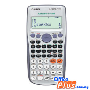 Casio Scientific Calculator (fx-570ES PLUS) - OfficePlus.com.my