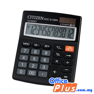 Citizen Calculator (SDC-812BN) - OfficePlus.com.my