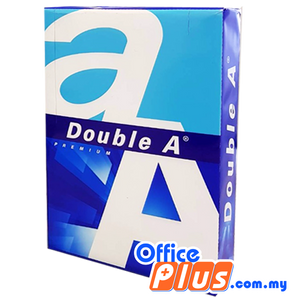 Double A A3 Copier Paper Premium 80gsm - 500 sheets - 5 reams - OfficePlus.com.my