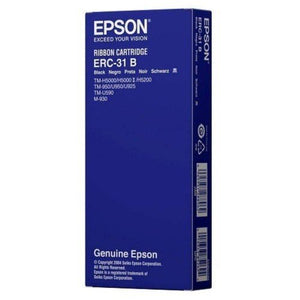 Epson ERC 31 Ribbon - Black (Item No: EPS ERC 31) - OfficePlus.com.my