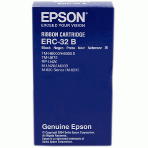 Epson ERC 32 Ribbon - Black (Item No: EPS ERC 32) - OfficePlus.com.my