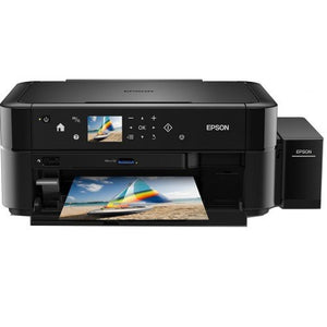 Epson L850 Multifunction Photo Printer - A4/6Inks/Print/Scan/Copy/CD/DVD printing/USB - OfficePlus.com.my
