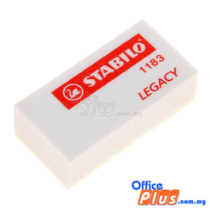 Stabilo Legacy Eraser (1183) - 6 pieces - OfficePlus.com.my