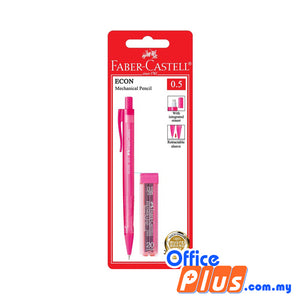 Faber-Castell ECON Mechanical Pencil 0.5mm with PL2265 (134205) - OfficePlus