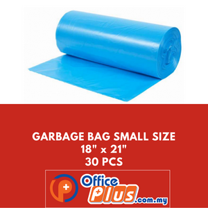 "OFFICEPLUS GARBAGE BAG SMALL SIZE 18""X21"" 30PCS - OfficePlus"