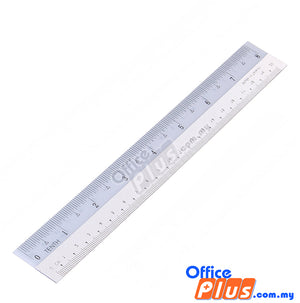 "High Class Plastic Straight Ruler 8""/20cm - OfficePlus.com.my"