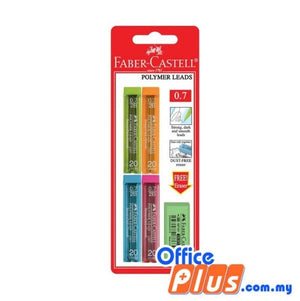 Faber-Castell Polymer Leads 0.7mm PL2267-4 with E187161-1 (226721) - OfficePlus