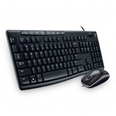 Logitech Media Combo (Keyboard+Mouse) MK200 - OfficePlus