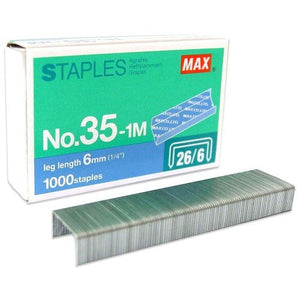 MAX STAPLES 35-1M BULLET - OfficePlus
