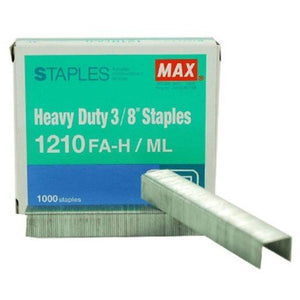 MAX Staples 1210FA-H Bullet - 3/8 - OfficePlus
