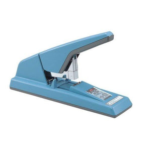 Max Flat Clinch Stapler HD-3DF - Navy Blue - OfficePlus
