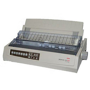 OKI ML391T Plus - A4 24-Pin printer Parallel & USB interfaces Dot Matrix PRINTER - OfficePlus