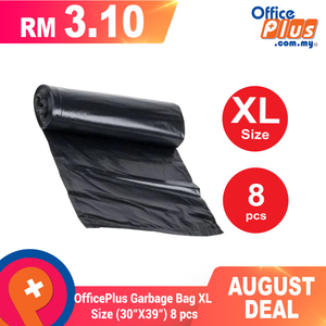 "OfficePlus Garbage Bag XL Size (30""X39"") 8 pcs - OfficePlus"