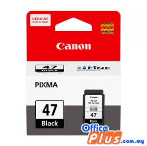 Canon PG-47 Black Ink Cartridge - OfficePlus