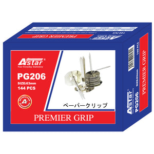 Astar Premier Grip Binder 63mm with Washers 144's - OfficePlus.com.my