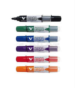 Pilot V Board Master Whiteboard Marker (Medium Bullet) (RM 2.80 - RM 2.90/pc) - OfficePlus