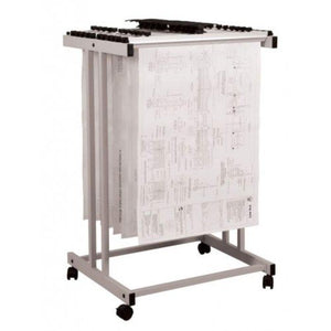 Plan Hangers Stand PHS199- Top Loading - A1 Size - OfficePlus
