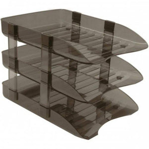 Plastic Desk Document Tray — 3 Tier - OfficePlus.com.my