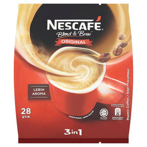 Nescafé 3 in 1 Instant Coffee Sticks ( 28 stick) - OfficePlus