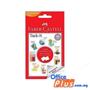 Faber-Castell Removable Adhesive Tack It 50g (187054) - 90 pieces - OfficePlus.com.my