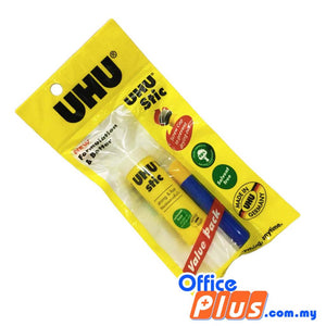 UHU Stic Value Pack 21g with E-1 - OfficePlus