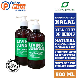 LIVING JUNGLE HAND SANITIZER 500 ML - OfficePlus