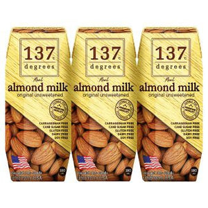 137 Degree Almond Milk Unweetened (150ml x 3) - OfficePlus