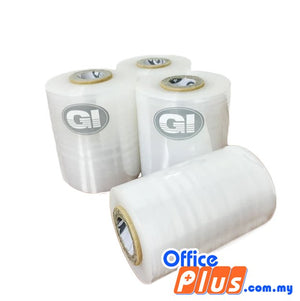 GI Stretch Film Baby Roll 100mm x 250g - 1 roll - OfficePlus.com.my