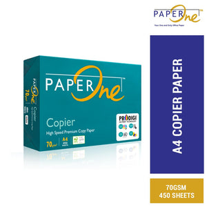 Paperone A4 Copier Paper 70gsm 450 Sheets (RM 9.30 - RM10.60/ream) - OfficePlus