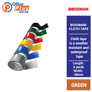 Bossman Binding Tape 48mm x 6 yards (RM 2.00 - RM 2.60/pc) - OfficePlus