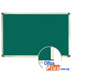 Chalk Writing Board Aluminium Frame -MGB45 120 X 150CM (4′ X 5′) - OfficePlus