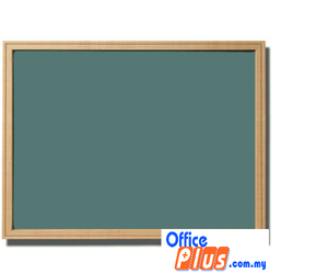 CHALK BOARD GREEN WOODEN MGB 23W 60 x 90CM (2′ X 3′) - OfficePlus