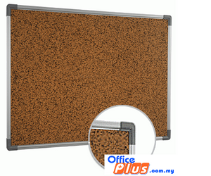 CORK BULLETIN BOARD CB – 46 120 x 180CM (4′ x 6′) - OfficePlus