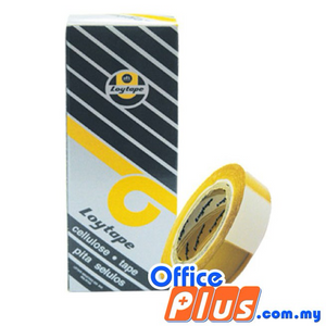 Loytape Cellulose Tape 12mm x 15Y - OfficePlus.com.my