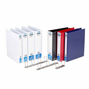 East-File A4 PVC Blue Ring File 2D - OfficePlus