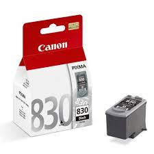 Canon PG-830 Black Ink (Genuine) for iP1880 1980 2580 MP145 198 - OfficePlus